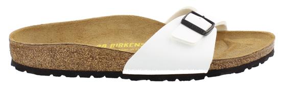 birkenstock madrid white narrow 024543 wit