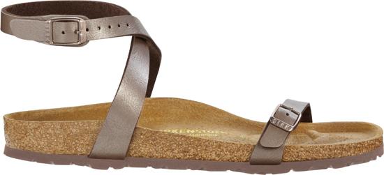 birkenstock daloa hazel narrow 026313 bruin