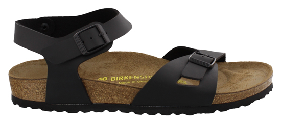 birkenstock rio black narrow 031793 zwart