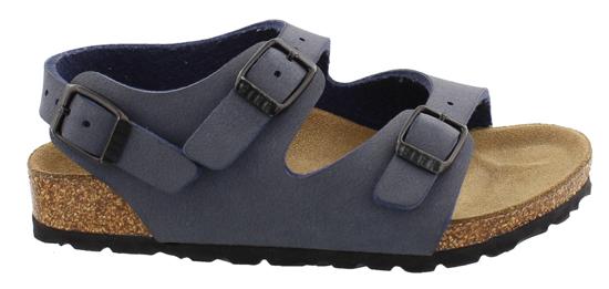 birkenstock roma navy narrow 033073 blauw