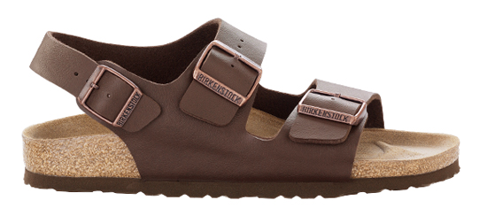 BIRKENSTOCK Milano dark brown regular 034701 bruin