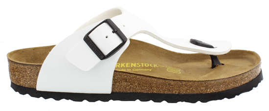 BIRKENSTOCK Ramses white outsole black regular 044451 wit