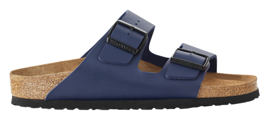 BIRKENSTOCK Arizona blue  narrow SFB 051063 blauw