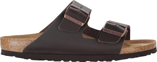 BIRKENSTOCK Arizona dark brown leather regular 051101 bruin