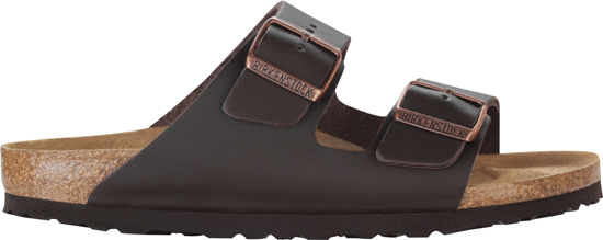 BIRKENSTOCK Arizona dark brown leather narrow 051103 bruin