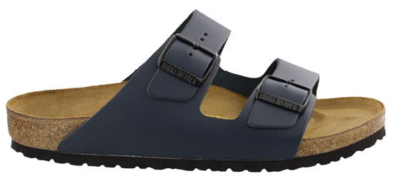 BIRKENSTOCK Arizona blue leather regular 051151 blauw