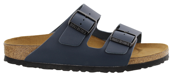 BIRKENSTOCK Arizona blue smooth leather narrow 051153 blauw