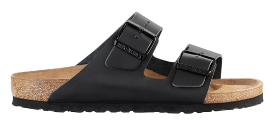 BIRKENSTOCK Arizona black leather regular 051191 zwart