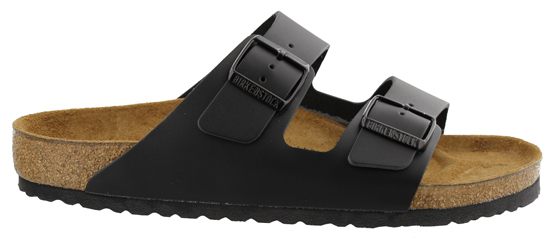 BIRKENSTOCK Arizona black leather narrow 051193 zwart