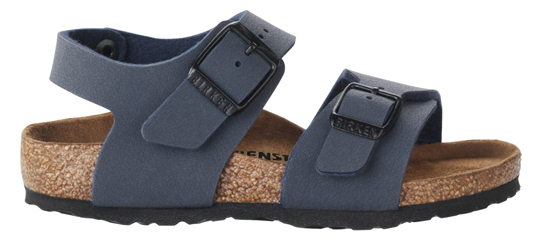 BIRKENSTOCK New York navy regular 087771 blauw