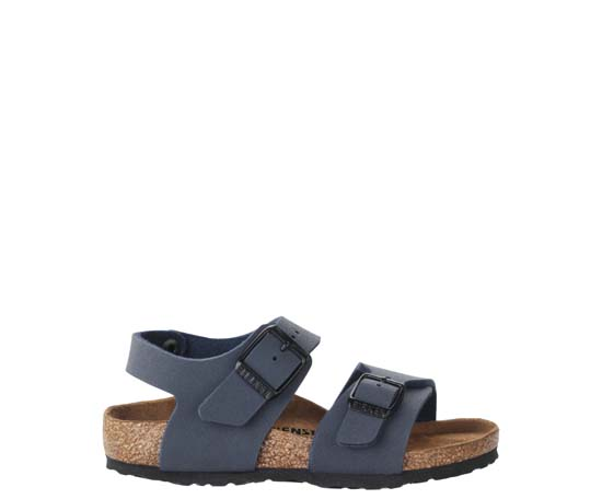 BIRKENSTOCK New York navy narrow 087773 blauw