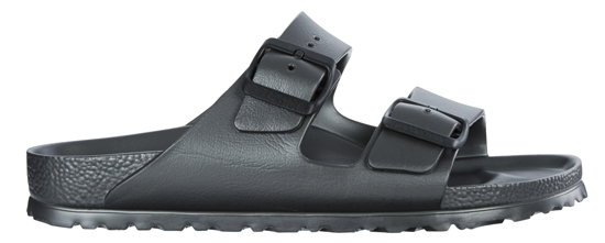 BIRKENSTOCK Arizona EVA metallic anthracite regular 1001497 grijs