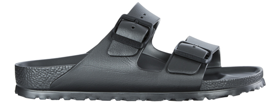 BIRKENSTOCK Arizona EVA metallic anthracite narrow 1001498 grijs