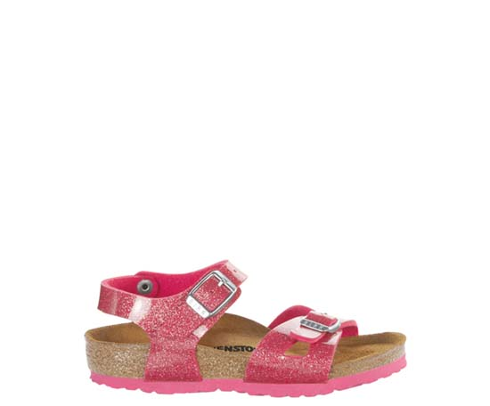 BIRKENSTOCK Rio magic galaxy bright rose narrow 1003235 roze/paars