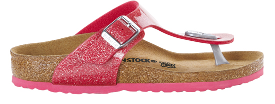 BIRKENSTOCK Gizeh magic galaxy bright rose narrow 1003241 roze/paars