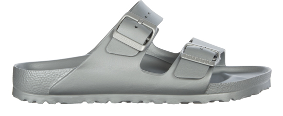 BIRKENSTOCK Arizona EVA metallic silver narrow 1003491 zilver