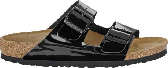 BIRKENSTOCK Arizona Black patent narrow 1005292 zwart