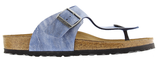 BIRKENSTOCK Ramses used jeans blue regular 1006176 blauw
