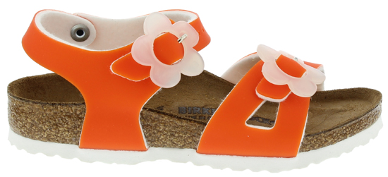 BIRKENSTOCK Rio candy orange narrow BF 1008177 oranje