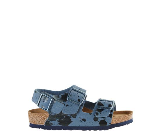 BIRKENSTOCK Milano colour sprays blue narrow 1008275 blauw