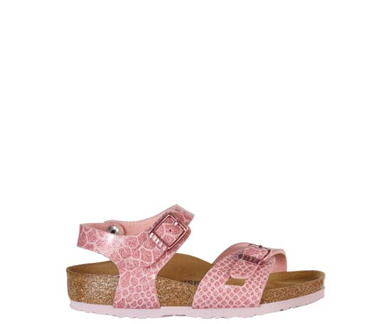 BIRKENSTOCK Rio magic snake rose narrow 1008280 roze/paars