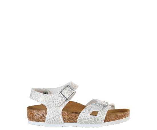 BIRKENSTOCK Rio magic snake white narrow 1008286 wit
