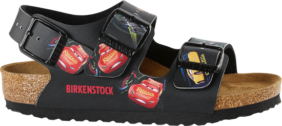 BIRKENSTOCK Milano Cars 3 Dark Blue narrow BF 1008674 blauw