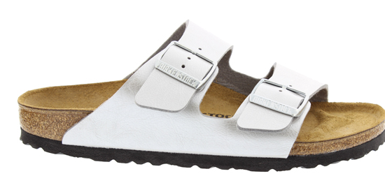 BIRKENSTOCK Arizona graceful silver narrow 1009603 zilver