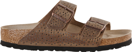 BIRKENSTOCK Arizona crafted rivets tabacco narrow 1009659 bruin