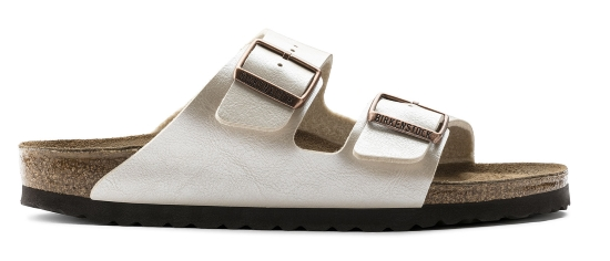 BIRKENSTOCK Arizona graceful pearl white regular 1009920 wit