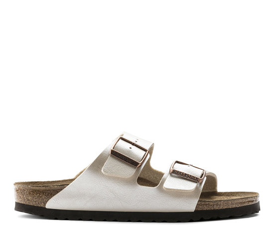 BIRKENSTOCK Arizona graceful pearl white narrow 1009921 wit