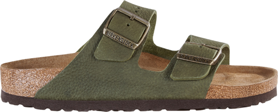 BIRKENSTOCK Arizona steer khaki narrow SFB 1009943 groen