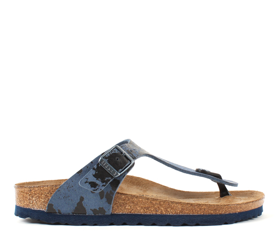 BIRKENSTOCK Gizeh colour spray blue narrow 1011457 blauw