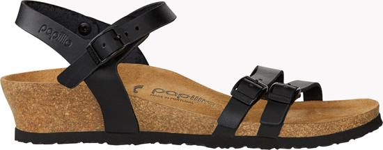 BIRKENSTOCK PAPILLIO Lana black narrow natural leather 1013159 zwart