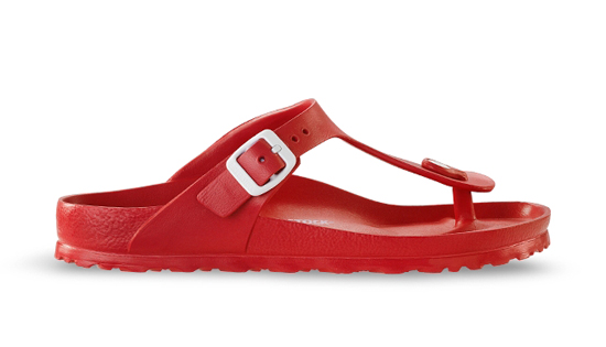 BIRKENSTOCK Gizeh EVA red regular 128231 rood