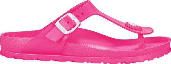 BIRKENSTOCK Gizeh EVA neon pink narrow 128463 roze/paars