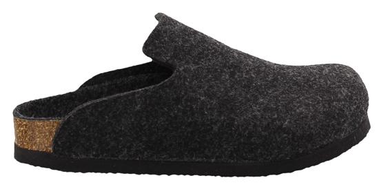 BIRKENSTOCK Davos anthracite wool narrow 142023 grijs
