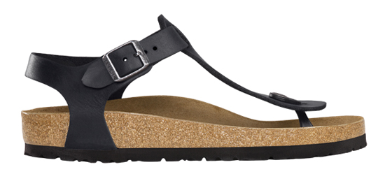 BIRKENSTOCK Kairo black oiled leather regular 147111 zwart
