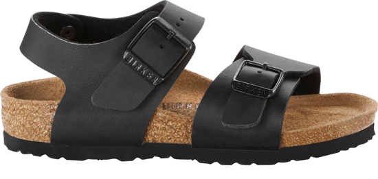 BIRKENSTOCK New York black narrow 187603 zwart