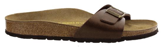 birkenstock madrid graceful toffee narrow 239513 bruin