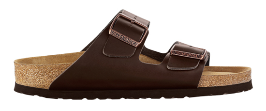 BIRKENSTOCK Arizona brown leather narrow SFB 551033 bruin
