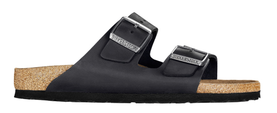 BIRKENSTOCK Arizona black oiled leather regular 552111 zwart