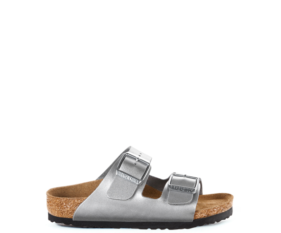 BIRKENSTOCK Arizona silver narrow 555133 zilver
