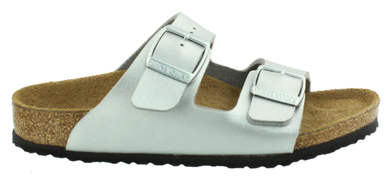BIRKENSTOCK Arizona silver narrow 651283 zilver