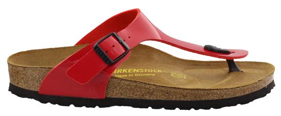 BIRKENSTOCK Gizeh tango red patent narrow 743193 rood