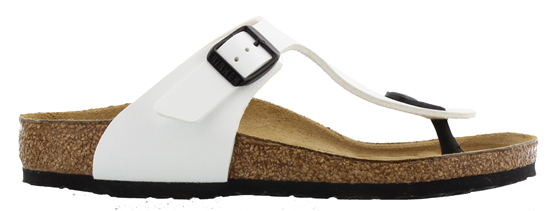 birkenstock gizeh white narrow 745713 wit