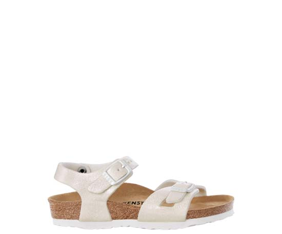 BIRKENSTOCK Rio magic galaxy white narrow 831693 wit