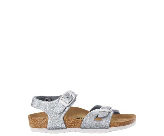 BIRKENSTOCK Rio magic galaxy silver narrow 831783 zilver
