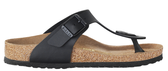BIRKENSTOCK Gizeh black regular 846141 zwart