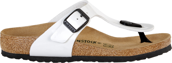 BIRKENSTOCK Gizeh white patent narrow 846163 wit